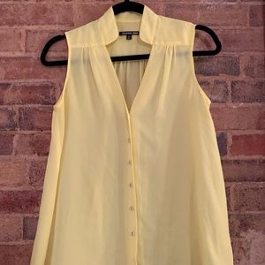 Gianni Bini Yellow sleeveless blouse